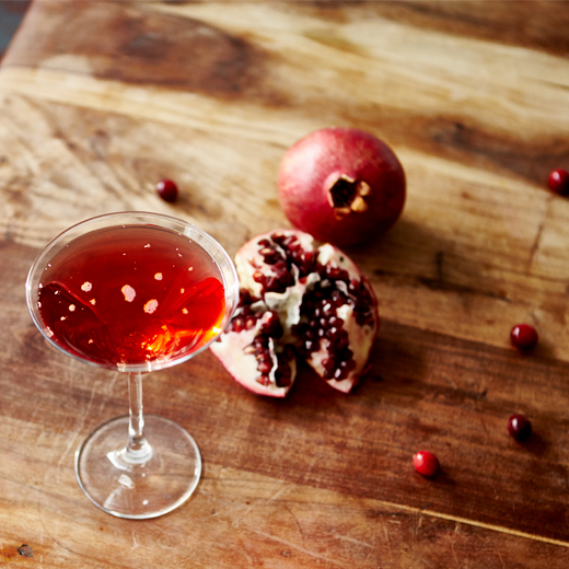 Kiss Mix Cosmopolitan and Pomegranate molasses